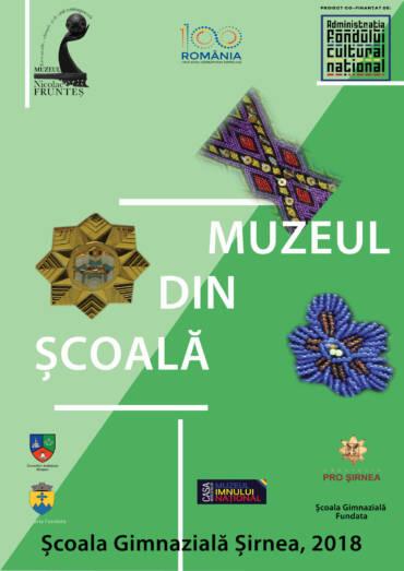 Afis Muzeul din scoala